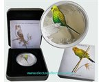 Australia - Silver coin PROOF 1/2 oz, Budgerigar 2013