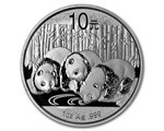 China - Silver coin BU 1 oz, Panda, 2013
