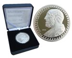 Greece - 10 Euro Silver Proof, Hippocrates of Kos, 2013