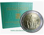 Vatican - 2 Euro, 28th World Youth Day - Rio, 2013