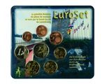 Luxemburg - Coin Set 2002 (1st issue - Mis-Imprinting)