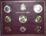 Vatican - Official BU Set 2004 (Anno MMIV)
