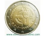 Slovakia – 2 Euro, accession to the EU, 2014