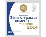 France - Euro coins, Official BU Set 2014