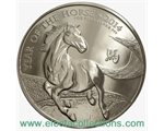 Great Britain - £2 Year of the Horse One Ounce Silver, 2014