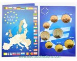 Luxembourg - Monnaies Euro, serie complete 2014