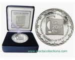 Greece - 10 Euro Silver Proof, EU Presidency, 2014