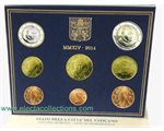 Vatican - Official Euro coin set BU 2014