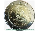 Malta – 2 Euro, 200 Years Police Force, 2014