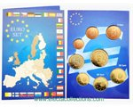 Spain - Euro coins, Complete UNC Set 2003 (BU in folder)