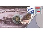 Greece - 2 Euro, Plato, envelope with stamp, 2013