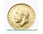Great Britain - George V, Gold Sovereign AU, 1917 - P