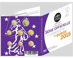 France - Euro coins, Official BU Set 2015