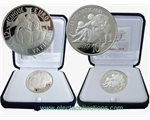 Vatican - Coin set 5 and 10 Euro silver, 2014