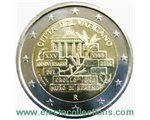 Vatican - 2 Euro, Berlin Wall, 2014 (in capsule)