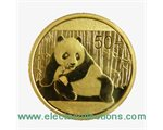 China - Gold coin BU 1/10 oz, Panda, 2015