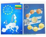 Lithuania - Euro Coins, Complete UNC set 2015