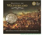 Great Britain - £5, 200th Anniversary of Waterloo, 2015