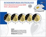 Germany – 2 Euro, St. Paul Church, Hesse, 2015 (Set Proof)