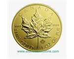 Canada - Gold coin BU 1 oz, Maple Leaf, 2015