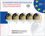 Germany – 2 Euro, German Unity, 2015 (Set Proof)