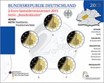 Germany – 2 Euro, St. Paul Church, Hesse, 2015 (Set BU)