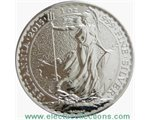 Μεγάλη Βρεταννία - £2 Britannia One Ounce Silver Bullion, 2015