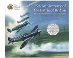 Great Britain - 50p, 75th Ann. Battle of Britain, 2015