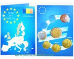 Andorra - Euro Coins, Set of 6 coins 2014
