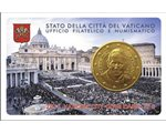 Vatican - 50 Cent, COIN CARD - N. 6 ANNEE 2015
