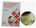 Portugal – 2 Euro BU, Red Cross, 2015 (coin card)