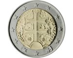 Slovakia - 2 Euro, The double Cross, 2009