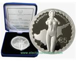 Cyprus - 5 Euro Silver PROOF, Aphrodite, 2015