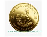 South Africa - Gold coin BU 1/10 oz, Krugerrand, 2015