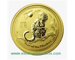 Australia - Gold coin BU 1/10 oz, Year of the Monkey, 2016