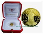 Vatican - 10 Euro Gold proof, Baptism, 2015