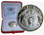Vatican - 5 Euro Silver, 48th  World Day of Peace, 2015