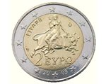 Greece - 2 Euro, Europa 2003 (unc in capsule)