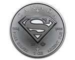 Canada - Silver coin BU 1 oz, Superman, 2016