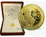 Greece - 200 Euro Gold, DEMOCRITUS, 2016