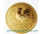 Australia - Gold coin BU 1 oz, Year of the Rooster, 2017