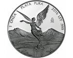 Mexico - Silver coin PROOF, Goddess of Victory, 2016