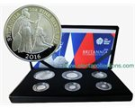 Μεγάλη Βρεταννία - Britannia Six-Coin Silver Proof Set, 2016