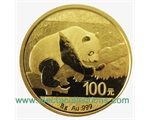 China - Gold coin BU 8g, Panda, 2016 (Sealed)