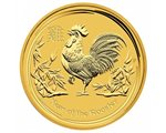Australia - Gold coin BU 1/4 oz, Year of the Rooster, 2017