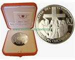Vatican - 10 Euro Silver, 31st World Youth Day, 2016