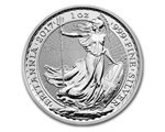 Royaume Uni - £2 Britannia One Ounce Silver Bullion, 2017