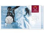Austria - 5 Euro silver, the Blue Danube, 2017