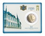 Luxemburg - 2 Euro, independence, 2014 (coin card)