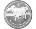 Australia - Silver coin BU 1 oz, Year of the Ox, 2009